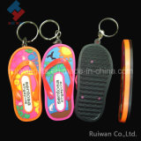 Slippers Plastic Keyholder, Soft Plastic Key Holder