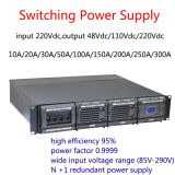 48VDC 100A Rectifier System with 96% Efficiency