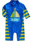 Baby 0-24m Infant Boys Longsleeves One Piece Swimsuit Baby Beachboy