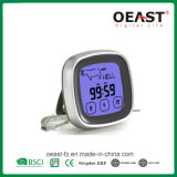 Touch Screen Digital BBQ Thermometer with 1 Probe and Timer Ot5231b3