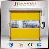 Industrial High Speed Roller Shutter Rapid Rolling Door with PVC (Hz-H002)