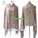 2017 Newest Pashmina Shawl Fashion Star Acquard Scarf