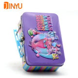 Metal Handle Box for Girl Gifts and Jewelry Packaging