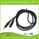Gold Plug Extension 3.5mm Audio Cable