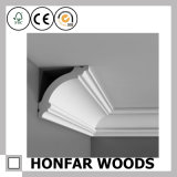Villa Ceiling Decor Solid Wood Cornice Crown Moulding