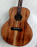 Aiersi Brand Professional Koa Acoustic Guitar for Sale