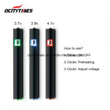 Ocitytimes S3 Preheat EGO Battery E Cig Vape Pen Battery
