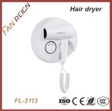 Provided Hotel Appliance High Efficiency Hair Dryer with Shaver Socket