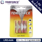 Mercury&Cadmium Free China Factory Ultra Alkaline Battery (LR03/AAA Size/AM4)