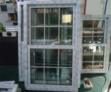 2017 Latest Design PVC Double Hung Window