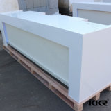 Artificial Stone Solid Surface Office Reception Desk
