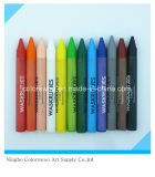 96g 12PCS Plastic Crayons for Students and Kids