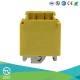 Jut1-35PE Sealed Earthing Grounding Wire Screw Dinrail Terminal Block