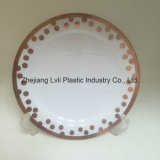 Plastic Plate, Disposable, Tableware, Tray, Dish, Colorful, PS, SGS, Hot Stamp Plate, PA-02