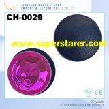 Red Plastic Clog Charm, Diamond Rhinestone Shoes Charm Decoration