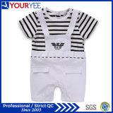 Cheap Soft Crew Neck Cotton Kid Infant Romper Bodysuit (YBY114)