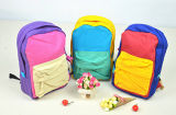 Canvas Bag Backpack Cotton Colored Student Backpack