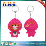 Customized 13.56MHz Waterproof RFID NFC Reward Keyrings / Smart Card