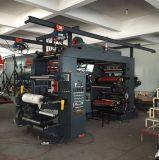 High Speed 4 Color Paper Plastic Film Bag Flexo Printing Machine