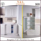 PVC Home Furniture Custom Made Wooden Kitchen Furniture