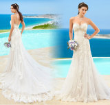 Sweetheart Wedding Dress Lace A-Line Bridal Gown 2017 Wd153
