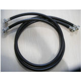 """Inlet 3/8"""" ID High Pressure Rubber Washine Machine Hose with Fittings"""