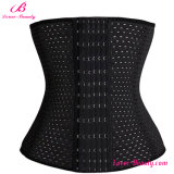 Wholesale Black Tummy Trimmer Ventilate Cheap Waist Cincher Slimming Corset