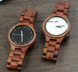 Handmade Quartz Ladies Wood Watches with Mini Band Watch