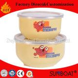 Sunboat 3 PCS Set Enamel Mixing Bowls Tableware Cookware