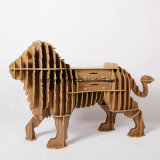 Multi-Purpose Children Toy Wooden Lion King Decorative Furniture