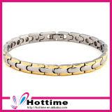 Customized Logo Fashion Jewelry Stainless Steel Bracelet (CP-JS-BL-123)