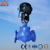 Pneunamic Globe Type Pressure Flow Regulating Valve