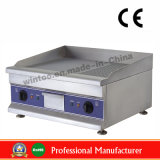 Top Selling Food Machine Electric Griddle (half flat half delve) with Ce (WG750-2)