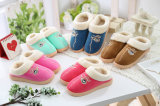 Lady′s Home Slipper Injection Sole Warm Slippers