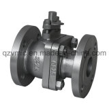 Cast Iron/Ductile Iron/FC200/Fcd-S Two-Piece 2-PC Full Port JIS 10K Flanged Ball Valve Factory Manufacturer