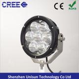 "12V-24V 7"" 70W 7X10W CREE LED Driving Light for 4X4"