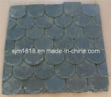 Black Slate Roofing Tiles in Special Shape (CSWB-006)