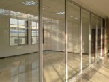 Demountable Glass Partitions/Aluminum Framed