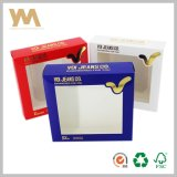 Package Box Paper Box with PVC or Pet