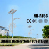 Good Price 30W~120W LED Solar Street Light with Double Arms 12V 30ah Lithium Battery
