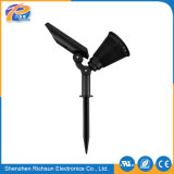 OEM PVC IP65 LED Solar Garden Light with Pure White
