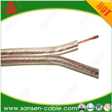 Transparent Speaker Cable for Audio Device/Speaker/Electrical Equipment