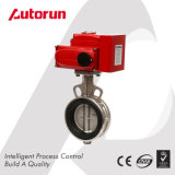 Aluminium Electric Wafer Butterfly Valve