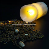 LED Flameless Candle Real Wax Moving Wick LED Candle for Home Party Halloween Christmas Wedding