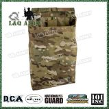 Camouflage Tactical Combat Dump Pouch for Spent Mags