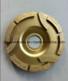 Three -Disc Diamond Grinding Wheel (Sharp cutting)