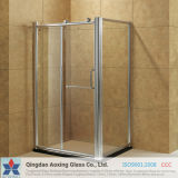 Flat Toughened Glass for Bathroom Glass with Good Quantity