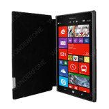 Black Frama Slim Leather Case for Nokia Lumia 1520
