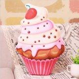 Lifelike Printing Cupcake Pillow