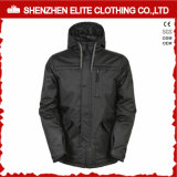Solid Black High Quality Cheap Ski Jackets Men Winter (ELTSNBJI-58)